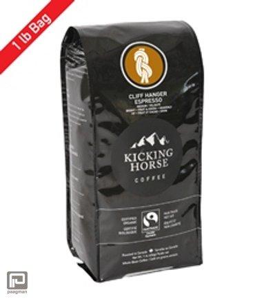 Kicking Horse Coffee, Blend Decaf - Swiss Water® Process Organic Fair Trade, gewicht 1 lb (454 gram)