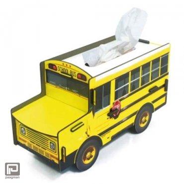 Werkhaus Tissue box schoolbus