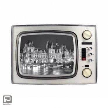 Werkhaus fotolijst TV middel zilver