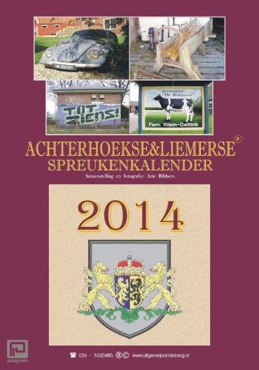 Achterhoekse & Liemerse spreukenkalender / 2014
