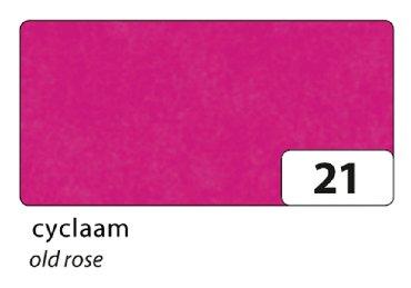 Zijdevloeipapier Folia 50x70cm 20g nr21 cyclaam set à 5vel