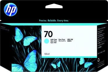 Inktcartridge HP C9390A 70 lichtblauw