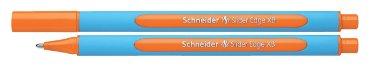 Balpen Schneider Slider Edge oranje extra breed
