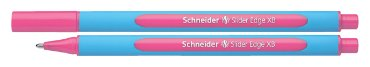Balpen Schneider Slider Edge roze extra breed