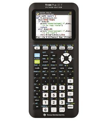 Rekenmachine TI-84 Plus CE-T teacher pack