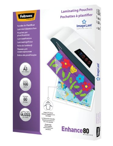 Lamineerhoes Fellowes A3 2x80micron 100stuks
