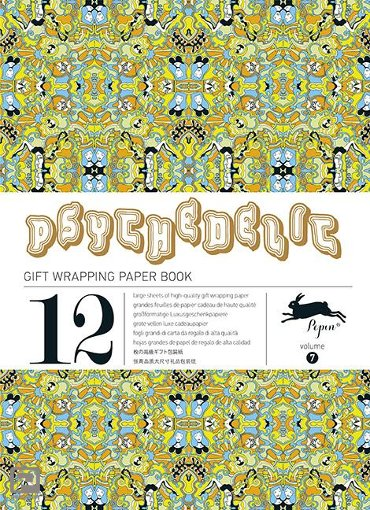 Psychedelic / Volume 7 - Gift wrapping paper book