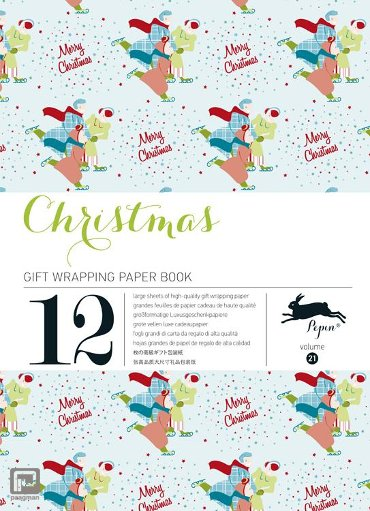 Christmas / Volume 21 - Gift wrapping paper book