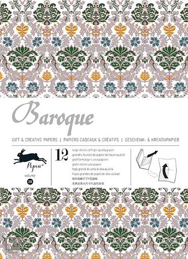 Baroque / Volume 30 - Gift wrapping paper book