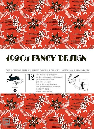 1920s fancy design / Volume 34 - Gift wrapping paper book