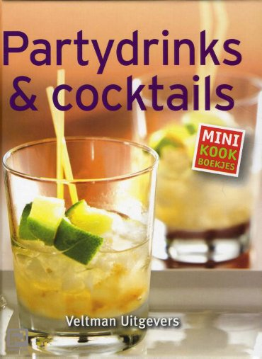 Partydrinks & cocktails - Mini kookboekjes