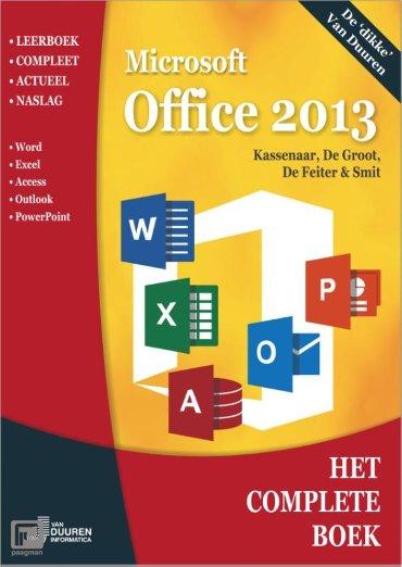 Microsoft Office 2013 / 2013 - Het complete boek