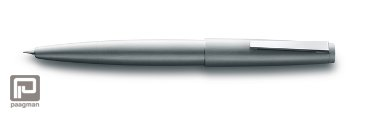 Lamy vulpen, model 2000 metal, met medium penpunt