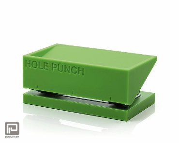 Lexon Buro perforator groen