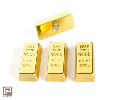 Trendform memobord magneten goudstaafjes