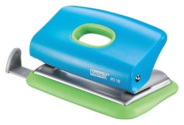 Perforator Rapid FC10 Funky 2-gaats 10vel blauw/groen
