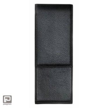 Lamy lederen penetui voor 2 pennen, generft, kleur zwart