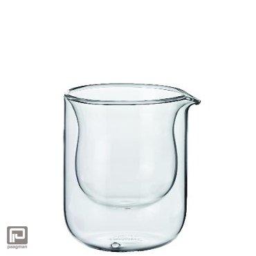 Räder melkkannetje Teatime glas, formaat 7,9 x 9 cm.
