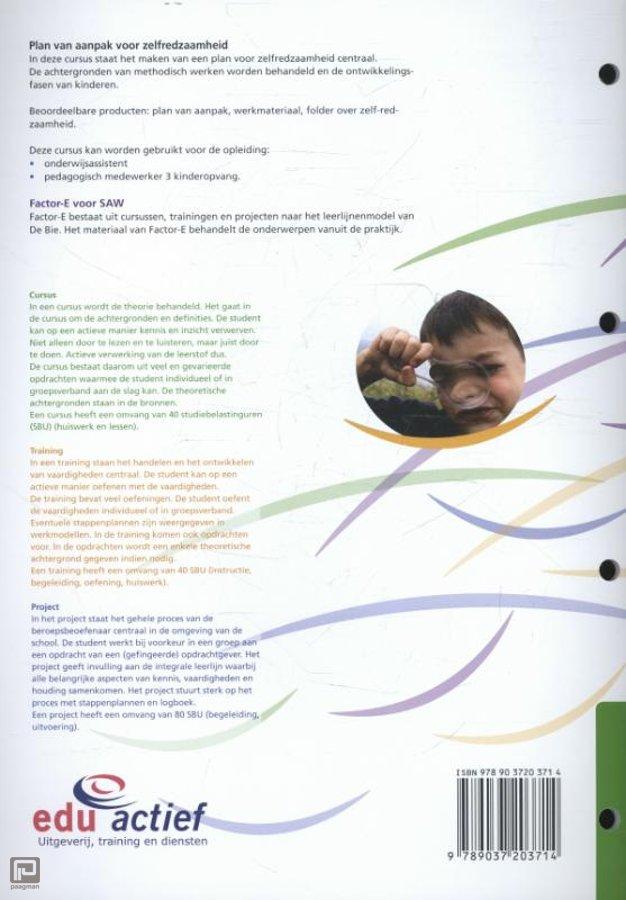 factor e plan van aanpak Factor E / Plan van aanpak voor zelfredzaamheid / Cursus , Betty  factor e plan van aanpak