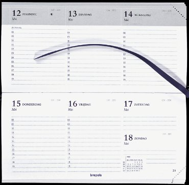 Agenda 2020 Brepols Breprint 7dag/2pagina assorti