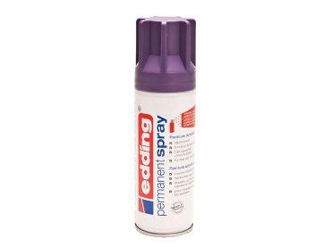 Verfspuitbus edding 5200 permanent spray mat lila