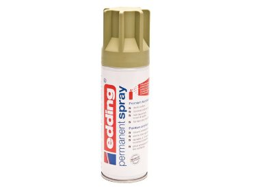 Verfspuitbus Edding 5200 permanent spray mat kaki