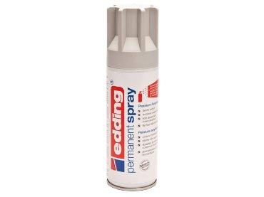 Verfspuitbus edding 5200 permanent spray mat dlichtgrijs