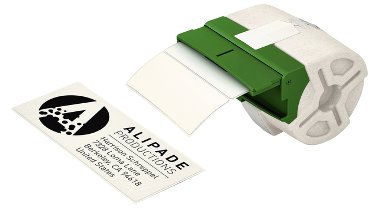 Etiket Leitz icon labelprint papier 36mmx88mm wit 600stuks