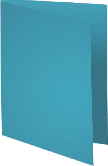 Vouwmap Exacompta Super A4 80gr lichtblauw
