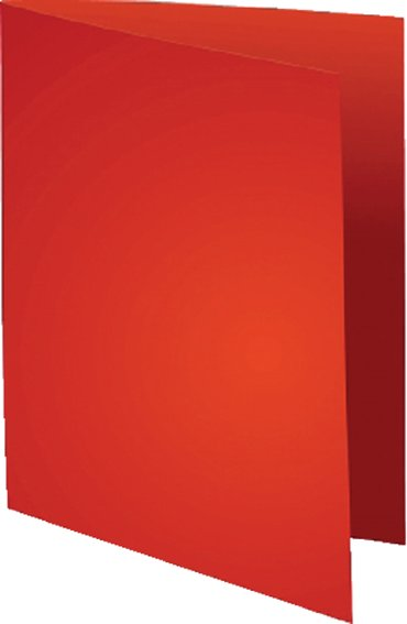 Vouwmap Exacompta Flash A4 80gr rood