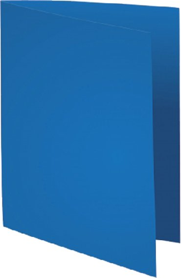 Vouwmap Exacompta Flash A4 80gr donkerblauw