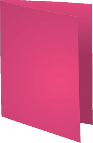 Vouwmap Exacompta Flash A4 80gr fuchsia