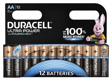 Batterij Duracell Ultra Power 12xAA alkaline