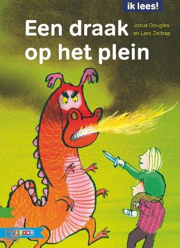 Een draak op het plein - Ik lees!