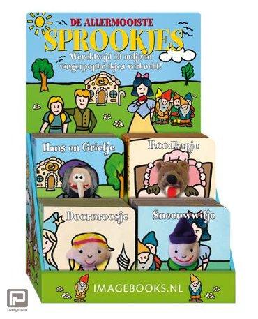 Vingerpopboekjes sprookjes 4Tx4Ex - Vingerpopboekjes