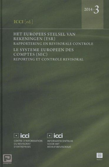 Het Europees Stelsel van Rekeningen(ESR); Le Systeme Europeen des Comptes (SEC) / 2014-3