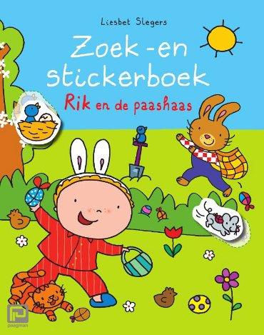 Zoek -en stickerboek Rik en de paashaas - Rik