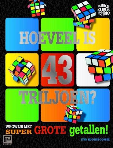 Hoeveel is 43 triljoen? - Rubik's Kubus