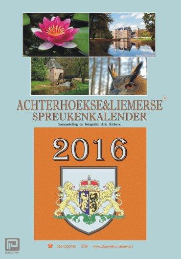 Achterhoekse & Liemerse spreukenkalender / 2016