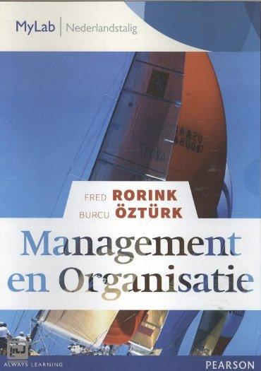 Management en Organisatie, toegangscode MyLab NL
