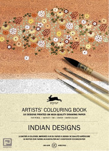 Indian Designs - Artists' colouring book