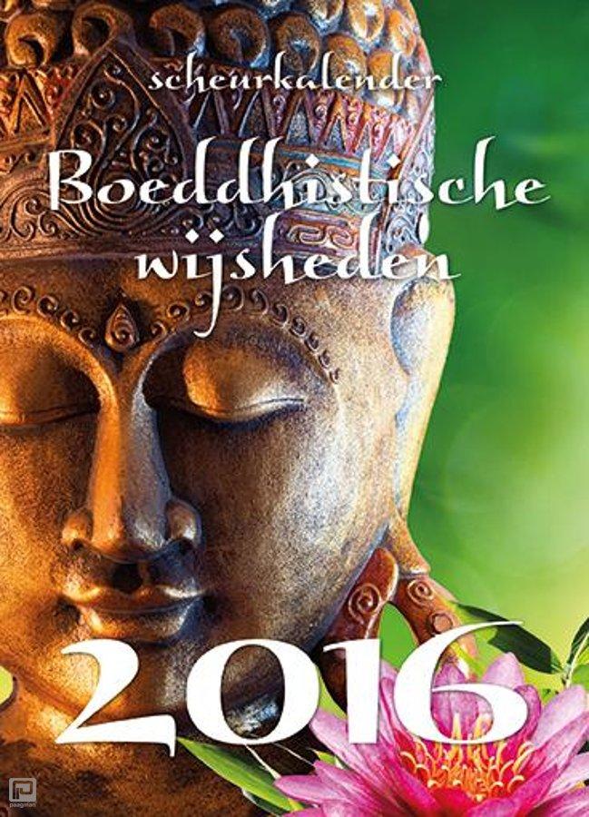 Boeddhistische Wijsheden Scheurkalender 2016 9789461884701