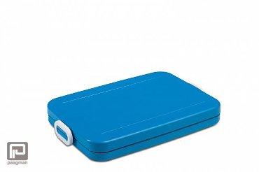 Rosti Mepal Take a Break lunchbox flat aqua