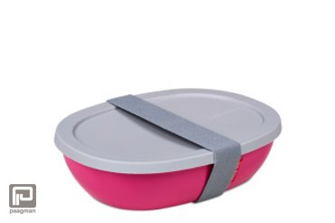 Rosti Mepal Ellipse lunchbox mono roze