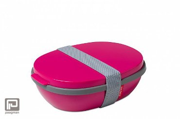 Rosti Mepal Ellipse lunchbox duo roze