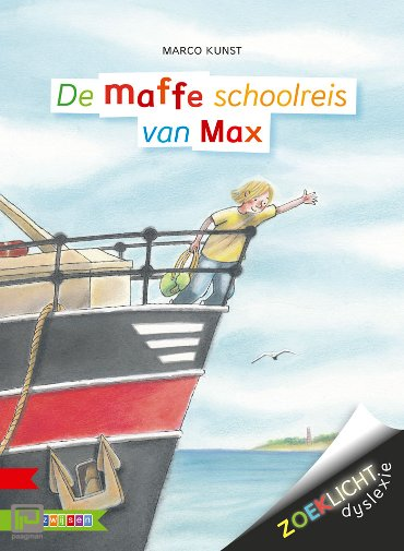 De maffe schoolreis van Max - Zoeklicht dyslexie