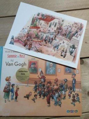 Sammie en Nell visit the Van Gogh museum Artist edition ngels