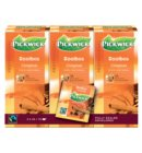 Thee Pickwick Fair Trade rooibos 25 zakjes van 1.5gr