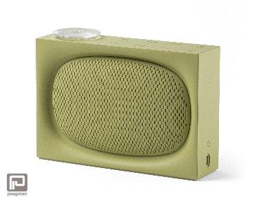 Lexon Ona radio + bluetooth speaker groen
