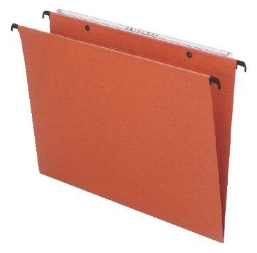 Hangmap Esselte Orgarex Kori 10402 verticaal oranje